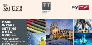 """Capasa, Marenzi, Riccobono al """"Made in Italy Summit 2021"""" del Sole 24 Ore e Financial Times"""