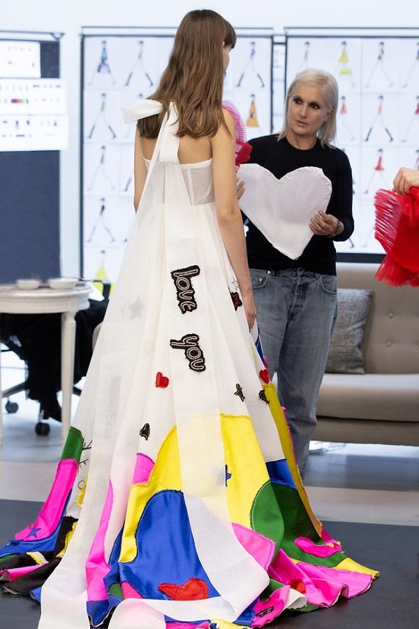 Dior presentsMaria Grazia Chiuri's creations for theAlber Elbaz Tribute Show