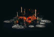 Dior presents theHalloween Table